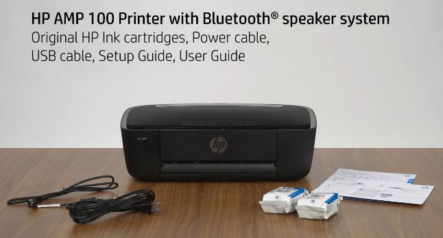 HP AMP 100 with Bluetooth Speaker System